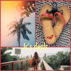 🌻🍃 Roxy women's tropic flip flops 🌻🍃